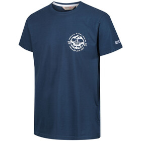 Regatta Cline III Camiseta Hombre, blue wing/captains blue